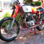 Kennys 1968 Honda CL350 Cafe Racer Project Bike