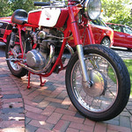 Kennys 1968 Honda CL 350 Cafe Racer Project Bike