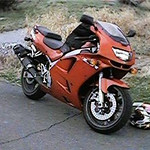 Firecracker Red 1996 ZX6R