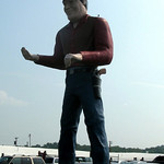 NJ Cowtown Rodeo Muffler Man