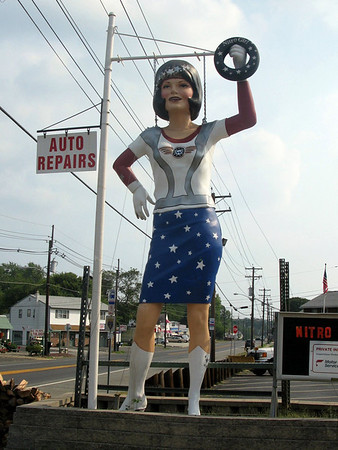 Uniroyal Gal - Nitro Girl in New Jersey