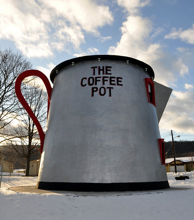 The Big Coffee Pot  Bedford Pa.