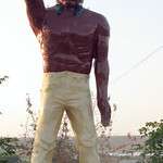 Bakersfield Indian Muffler Man