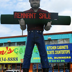 Muffler Man Sopranos New Jersey Wilsons House of Carpet