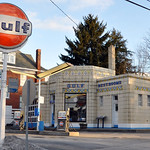 Dunkle's Gulf Lincoln Highway Bedford, Pa