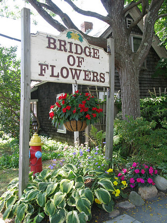 Bridge of Flowers - Shelburne Falls