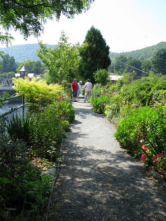 Bridge of Flowers - Shelburne Falls, Ma.