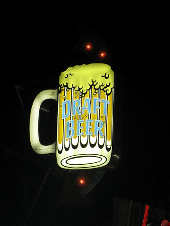 Beer Mug Sign Seaside Heights NJ Boardwalk