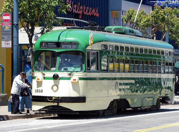 San Francisco Street Car F-Line Muni 1050