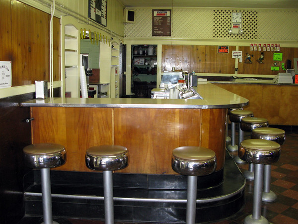 Romar Candlepin Bowling Alley Lunch Counter Boothbay Harbor, Maine