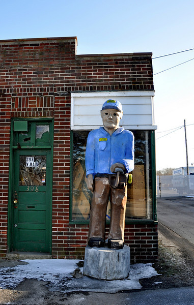 Creepy Tommy Statue Patchogue