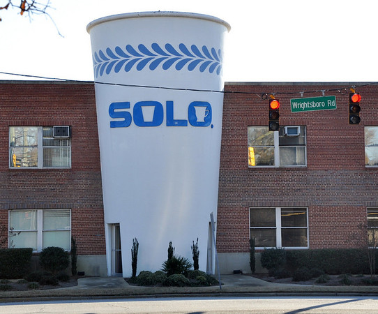 Giant Solo Cup Augusta Georgia
