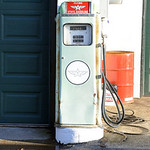 Vintage Flying A Gasoline Pump