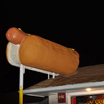 Giant Hot Dog First National Franks