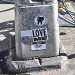 Love Me Sticker - NYC