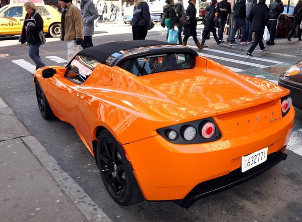 Tesla Roadster Sport New York City