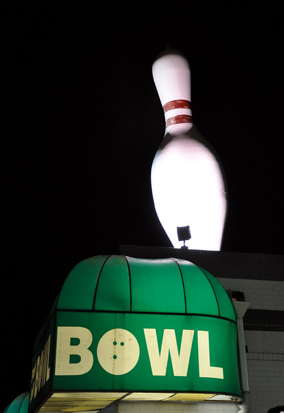 Giant Bowling Pin Port Jeff Bowl