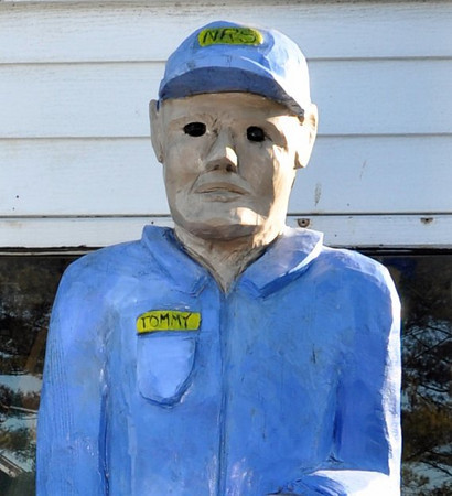 Creepy Tommy Statue Patchogue NY