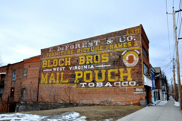Mail Pouch Tobacco Wall Mural Fort Edward NY