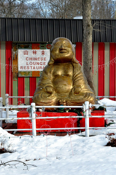 Maryland Big Happy Golden Buddha