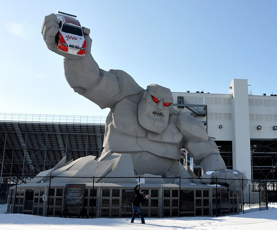 Monster Monument Dover International Speedway - Miles
