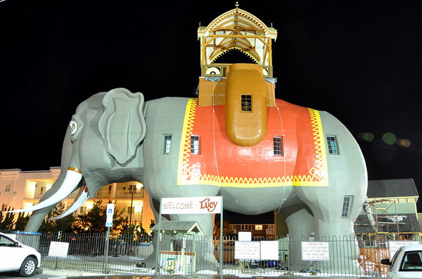 Lucy Margate Elephant Building New Jersey