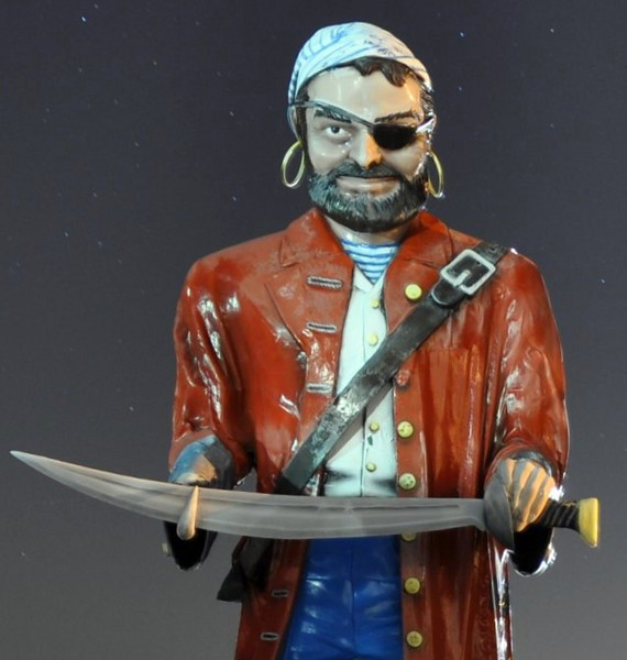 Muffler Man Pirate