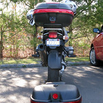 Givi e460 and Sears Top Box