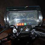 Suzuki RE5 Rotary Dash - Fuzzygalore Girlie Motorcycle Blog