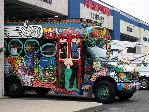 Psychedelic Party Bus Long Island