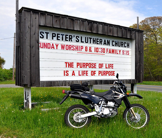 The Purpose of a Life is a Life of Purpose Fuzzygalore Motorcycle Blog