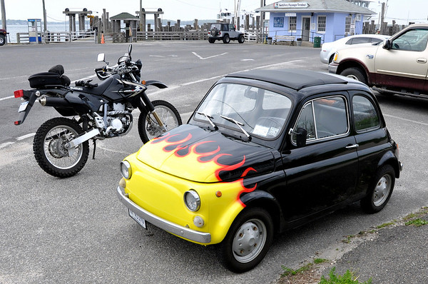 Fiat 500 Shelter Island Fuzzygalore Motorcycle Blog