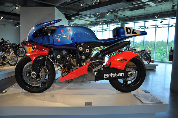 Britten V1000 Motorcycle Museum Fuzzygalore Girlie Motorcycle Blog