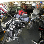 Bikes on the Ferry Fuzzygalore Motorcycle Blog