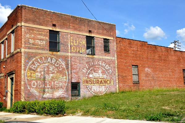 Ad Ballard's Obelisk Flour Birmingham Alabama