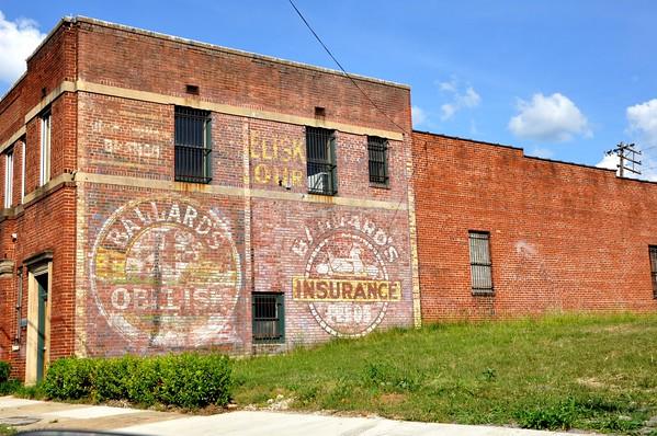 Ad Ballard's Obelisk Flour Birmingham Alabama
