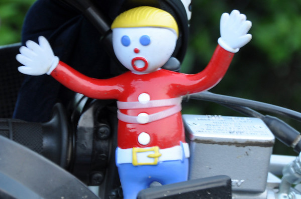 Suzuki DRZ 400 Mr. Bill Mascot