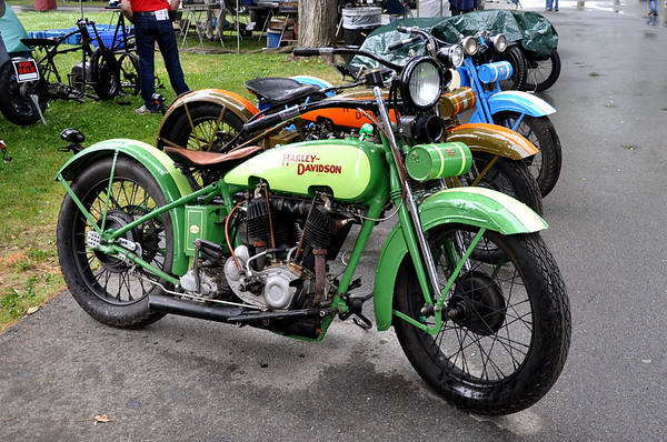 Vintage Harley-Davidson Motorcycles Rhinebeck National Super Meet