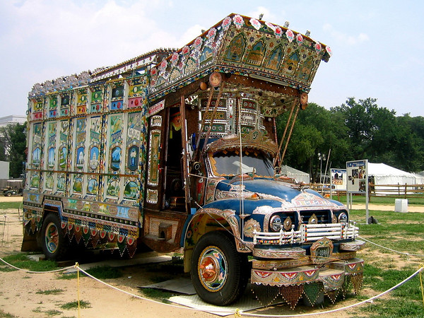 Pakistanti Painted truck 1976 Bedford Washington DC