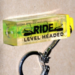 Ride Level Headed Keychain