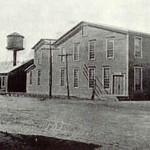 Setauket downtown Rubber Factory Historical Photo
