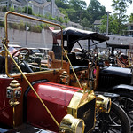 Port Jefferson Centennial Hill Climb Antique Cars