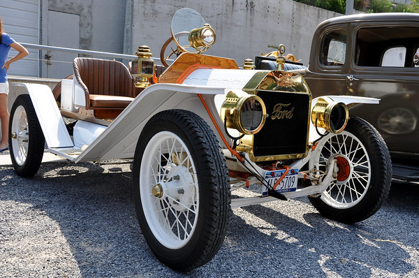 Antique Ford Car Port Jefferson Hill Climb