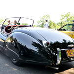 Vintage Jaguar Potr Jefferson hill Climb