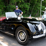 Vintage Jaguar Port Jefferson Hill climb