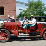 White - Antique Cars at Port Jefferson Hill Climb Event