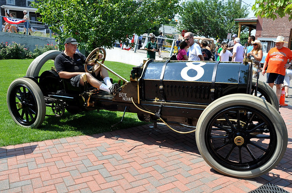 1909 Alco-6 Racer The Black Beast Port Jefferson Hill Climb Event