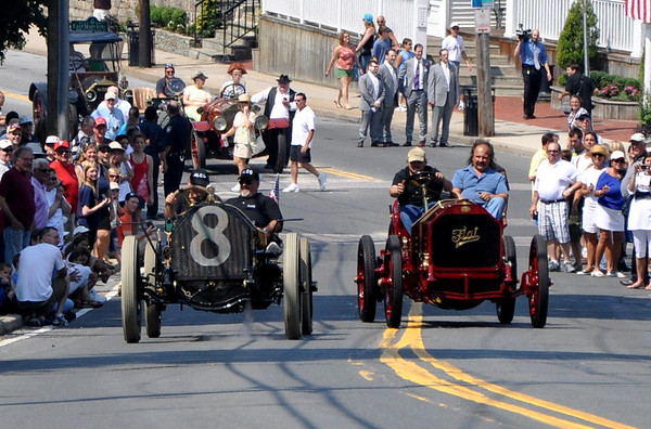 Alco-6 and Fiat Stop at Port Jefferson Hill Climb