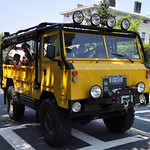 Vintage Land Rover Port Jefferson Hill Climb
