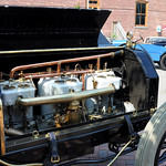 Black Beast 1909 Alco-6 Under the Bonnet